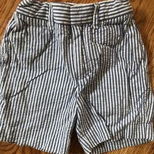 BabyBoys CrewCuts Seersucker Stripe Short